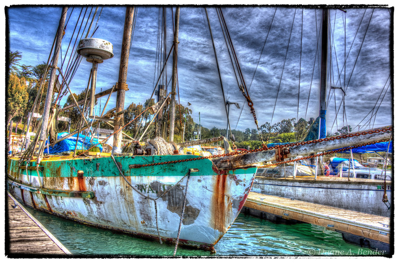 """April 24, 2013 - """"Working Boat""""<br /> <br /> as opposed to """"Pleasure Boat"""""""