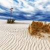 Flow Across Sand