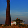 "November 19, 2009 - ""Point Bolivar Lighthouse""<br /> <br /> Photographed one week ago.<br /> <br /> from NPR (2008)<br /> ""It has become clear that Galveston Island was nearly ruined by Hurricane Ike. But compared to the Bolivar Peninsula, just northeast of the island, Galveston was lucky. Instead of entire neighborhoods, entire towns disappeared.<br /> <br /> Upon returning to Gilchrist, residents who had lived in the coastal town for more than half a century could not locate their houses or even figure out where their street had been. .....""<br /> <br /> From Wikipedia, the free encyclopedia<br /> <br /> Point Bolivar Light is a historic lighthouse in Port Bolivar, Texas, that was built in 1872. It served for 61 years before being retired in 1933, when its function was replaced by a different light.<br /> The current lighthouse is at least the second structure at the site. The first lighthouse was built in the mid 1850s and was pulled down during the Civil War so that Union warships could not use it as a navigational aid.<br /> During the Galveston Hurricane of 1900, the lighthouse served as a shelter for at least 125 people, saving their lives. It also survived another hurricane, in 1915, where winds of 126 miles per hour were recorded. The first lighthouse keeper, H.C. Claiborne, retired in 1918, after witnessing those two storms, and was replaced by a Captain J. Brooks. In 1947 the lighthouse was sold and, although still standing, is not open to the public. The 1970 film My Sweet Charlie, starring Patty Duke and Al Freeman Jr. was filmed at the lighthouse and adjacent caretaker's house.<br /> The lighthouse is adjacent to the Houston Audubon Society's Horseshoe Marsh Bird Sanctuary.<br /> The lighthouse was reported to have been destroyed by Hurricane Ike in September 2008. However, later eyewitness investigation found the structure appeared, at least from the air, unharmed."