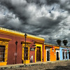 "September 20, 2010 - ""Clouds Over Oaxaca""<br /> <br /> Quiet city scene shot on 5 de Mayo Street."