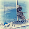 """December 17, 2010 - """"Shredded Sail""""<br /> <br /> A close up of the boat image posted yesterday."""