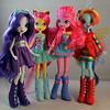 Rarity, Fluttershy, Pinkie Pie and Rainbow Dash