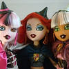 My three Bratzillaz, together~