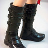 Cute buckle boots!