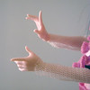 I really like her hand sculpt!