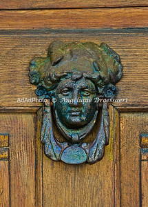 Doorknocker in Lorsch, Hessen, Germany 2010