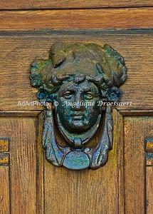 Doorknocker in Lorsch, Hessen, Germany 2010