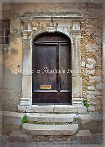 In Saint Paul de Vence, South of France