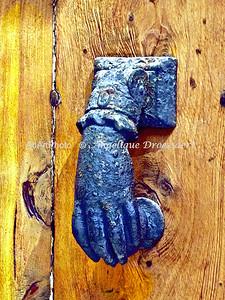 On a Door in Antibes