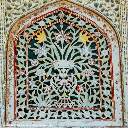 Sheesh Mahal, Amer Fort, Amber Palace, Jaipur, Rajasthan, Incredible India