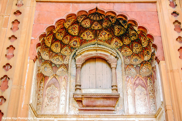 Delicate windows, Safdarjung Tomb, Delhi