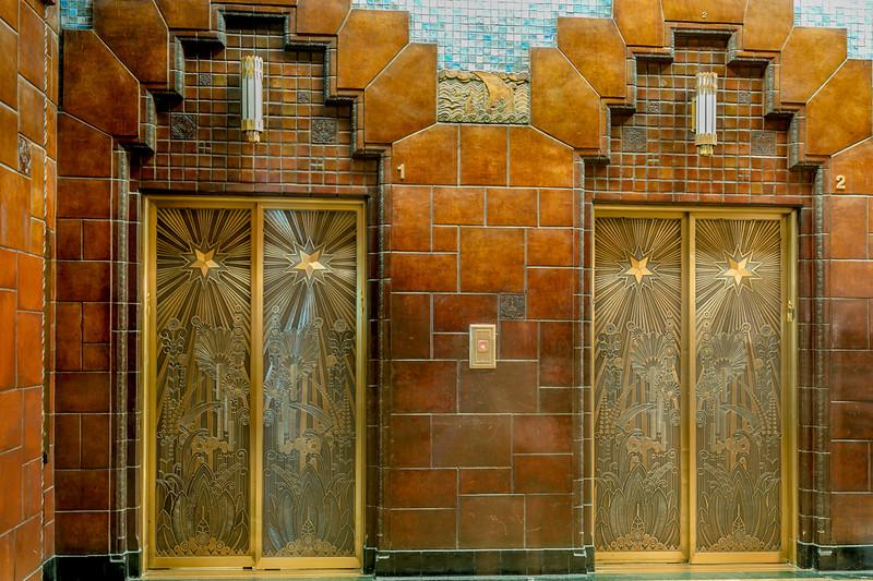 Marine Building Elevator Doors