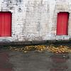 Red Doors in Autumn