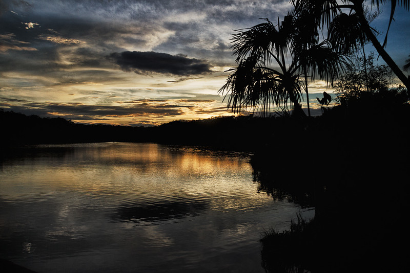 Sunset at Lake Pilchicocha
