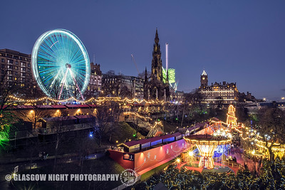 Christmas in Edinburgh