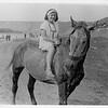 Zalishchyky. Dnister. Sunny beach. Renia in a horse.