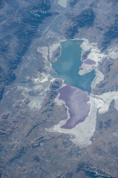Great Salt Lake, Utah, US
