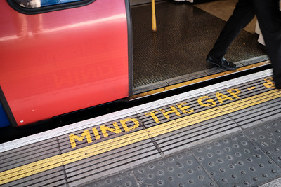Mind The Gap - London, United Kingdom
