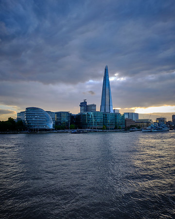 The Shard At Sunset - London, UK