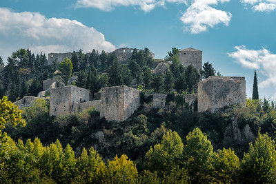 Vidoski Castle In Stolac, Bosnia and Herzegovina