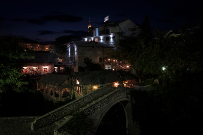 Exploring Mostar At Night