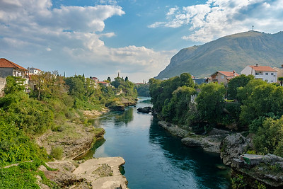 The Neretva River - Mostar, Bosnia and Herzegovina