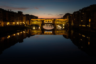 Sunrise Over The Ponte Vecchio