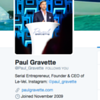 Paul Gravette - Twitter Profile