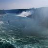 Niagara Falls August 2007 Niagara River and American Falls