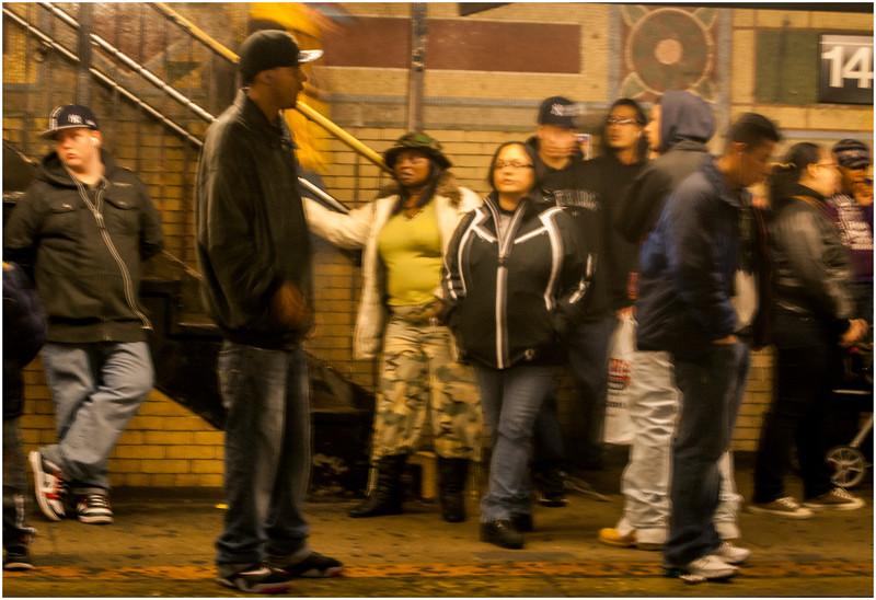 New York City November 2009 South Bronx Subway 2