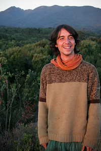 Arnaud in Chile at a farm near Puerto Montt. We met first at a permaculture center in Argentina and now Arnaud, originally from France, runs Finca Mono Verde in Ecuador.