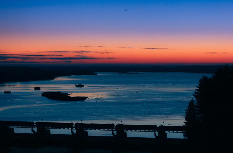 Illinois River Sunrise