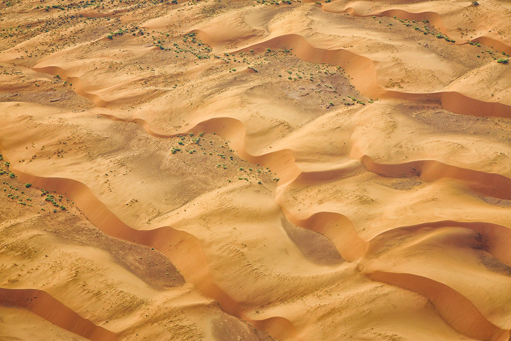 Dune field, Monument Valley
