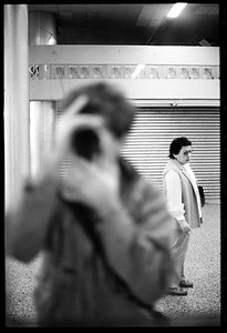 Self Portrait, New York City, 1986.