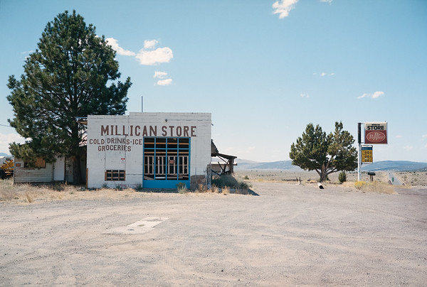 Abandoned Millican Store