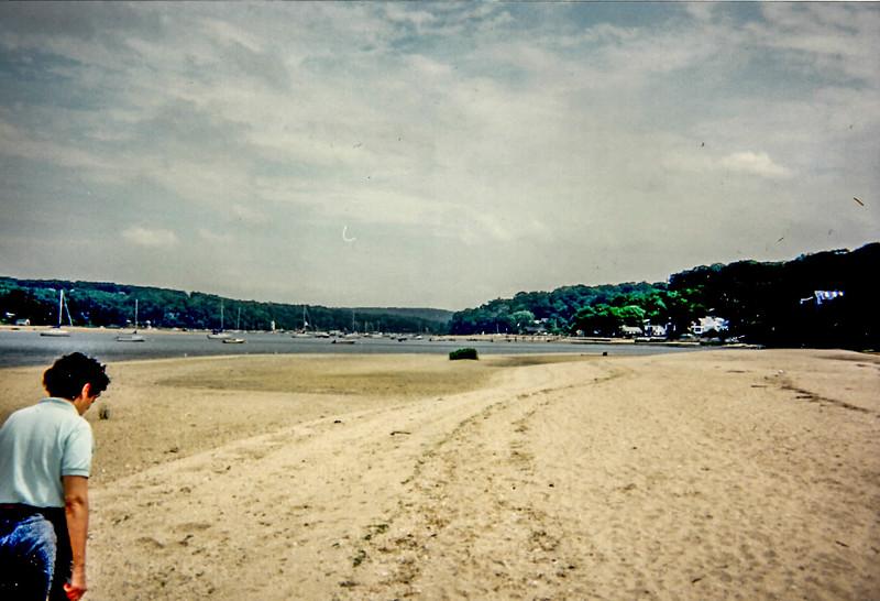 Beach in Huntington, NY