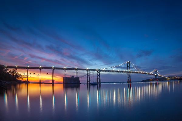 Mt.Hope Bridge Sunset