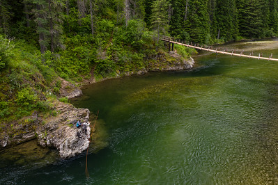Fly fishing Idaho, including the Clearwater River.