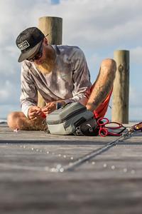 Expeditionary fishing trip to Samoa with Australian angler Jonathan Jones for mahi-mahi, giant trevally, and other species. Shot for YETI Coolers.