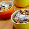 Bowls Of Baked Bread Pudding
