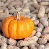 Pumpkin and peanuts