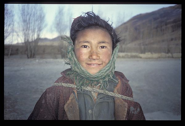 Fossil Collector, Tibet