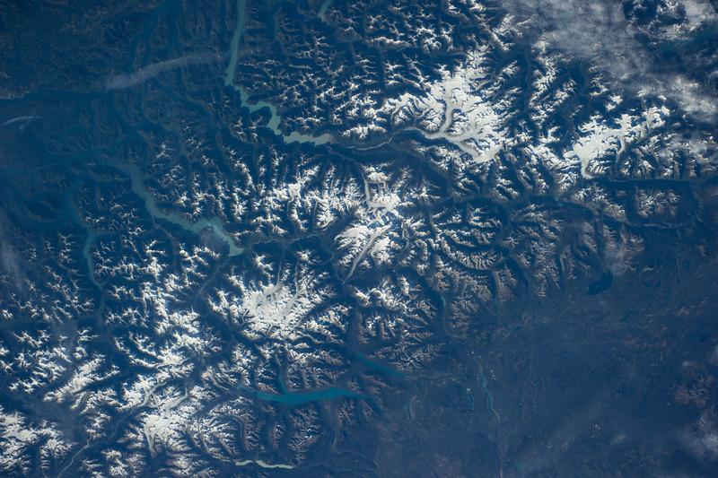 Klinaklini Glacier, Canada