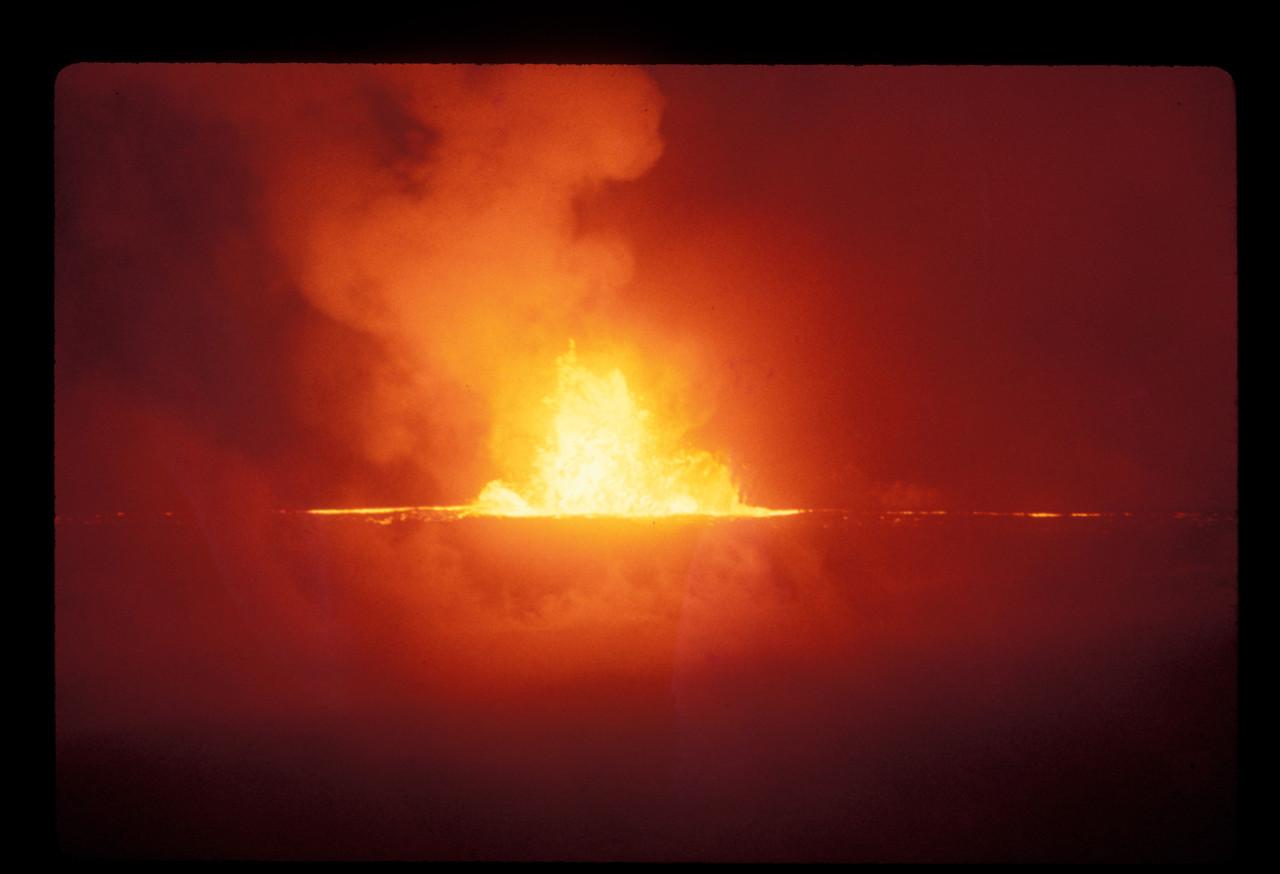 Mauna Ula at night (Hawaii Volcanoes National Park)