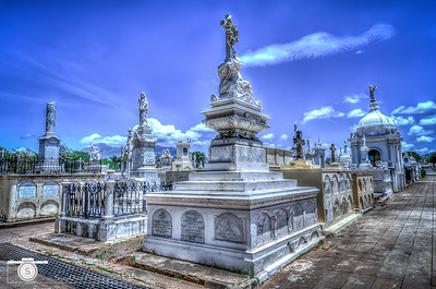 Granada Nicaragua Cemetery...one of the many beautiful tombs in this old cemetery.