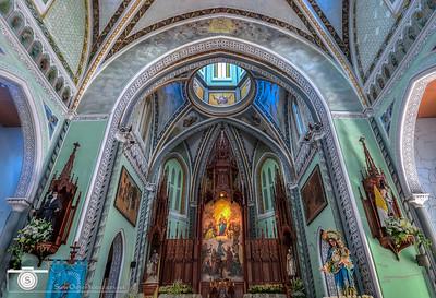 Alter Dome of Maria Auxiliadora in Granada, Nicaragua