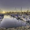 Sunset at Oceanside Harbor - HDR - 7 Feb 2011