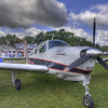Beech Debonair at AirVenture - HDR - 28 July 2010