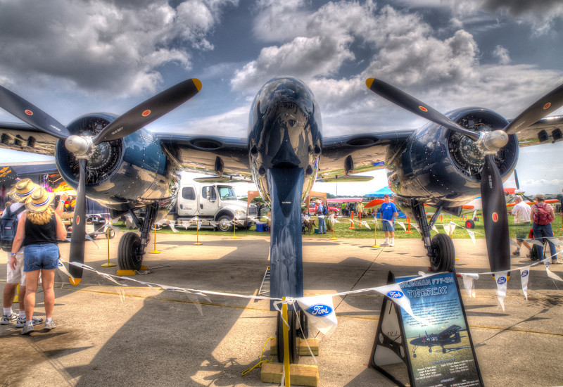 AirVenture - HDR - 31 July 2013