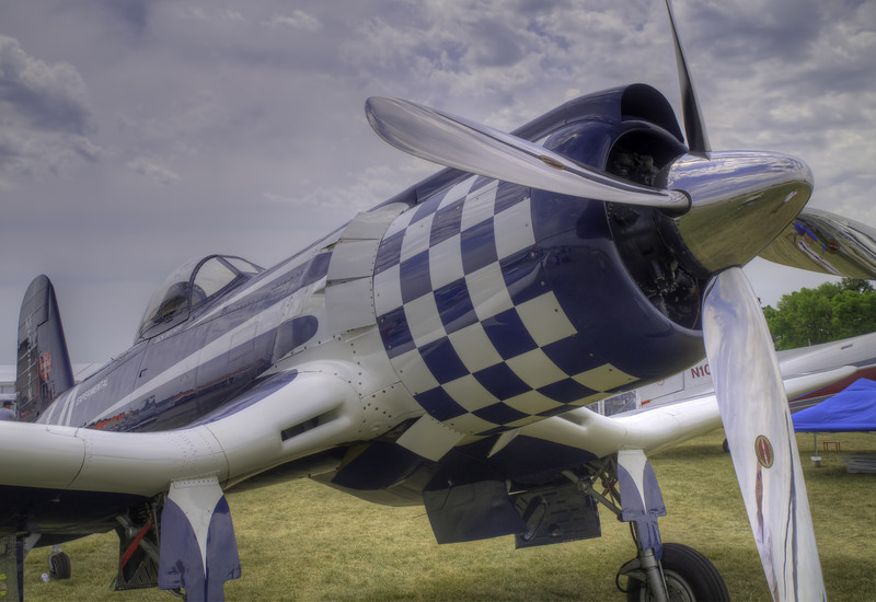 Super Corsair at AirVenture - HDR - 25 July 2012